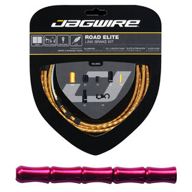Jagwire Road Elite Link Bremszugset rot